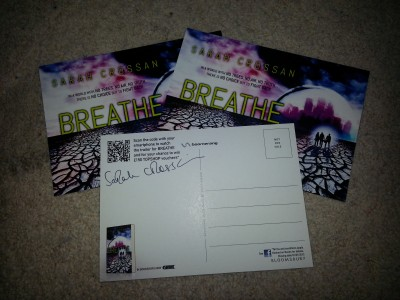 Breathe Postcards