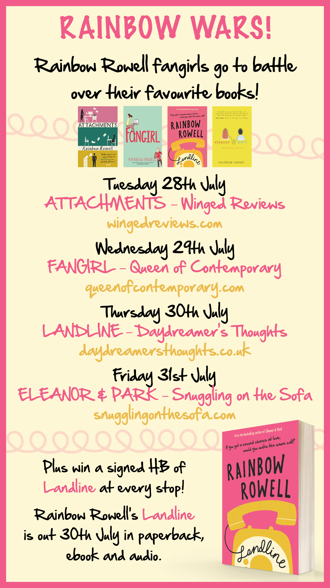 Landline mmp Blog Tour