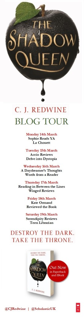 Shadow Queen Blog Tour Banner