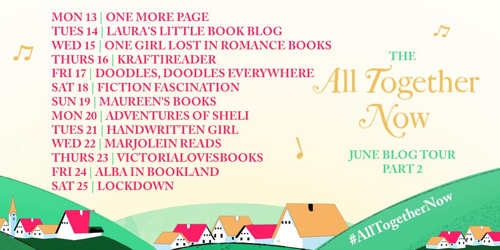 All Together Now blog tour poster pt 2