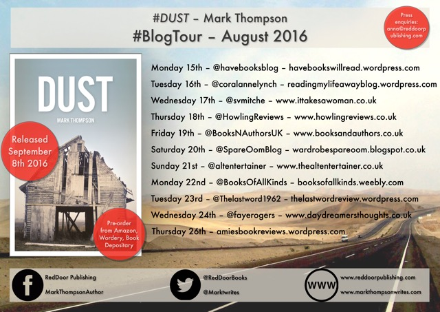 Dust blog tour