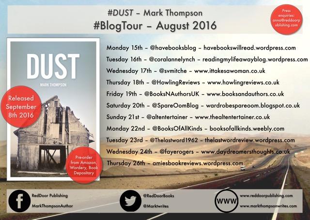 Dust blog tour