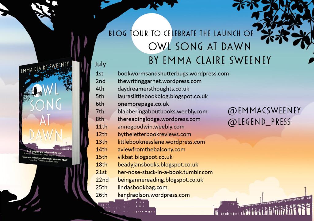 Owl Song at Dawn blog tour