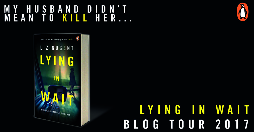 Lying in Wait blog tour card