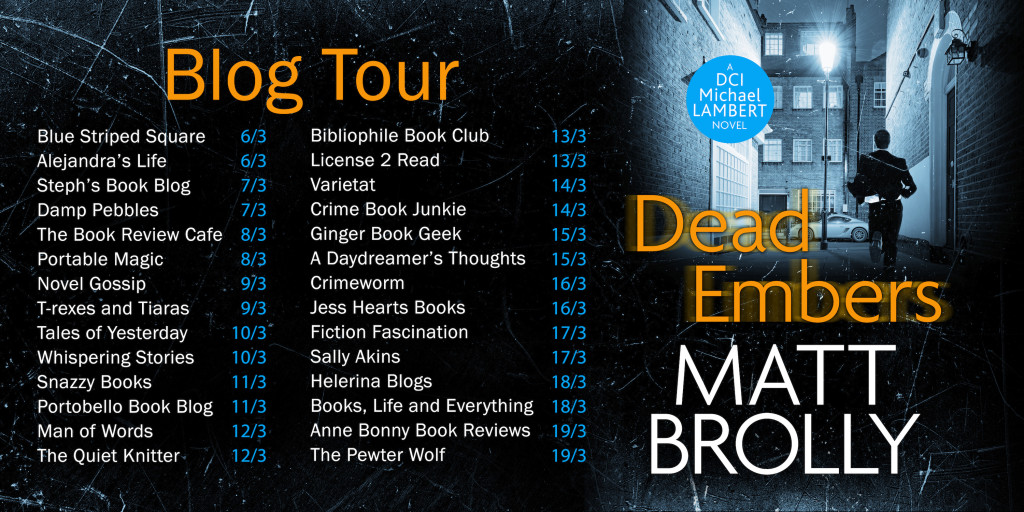 Dead Embers blog tour 2