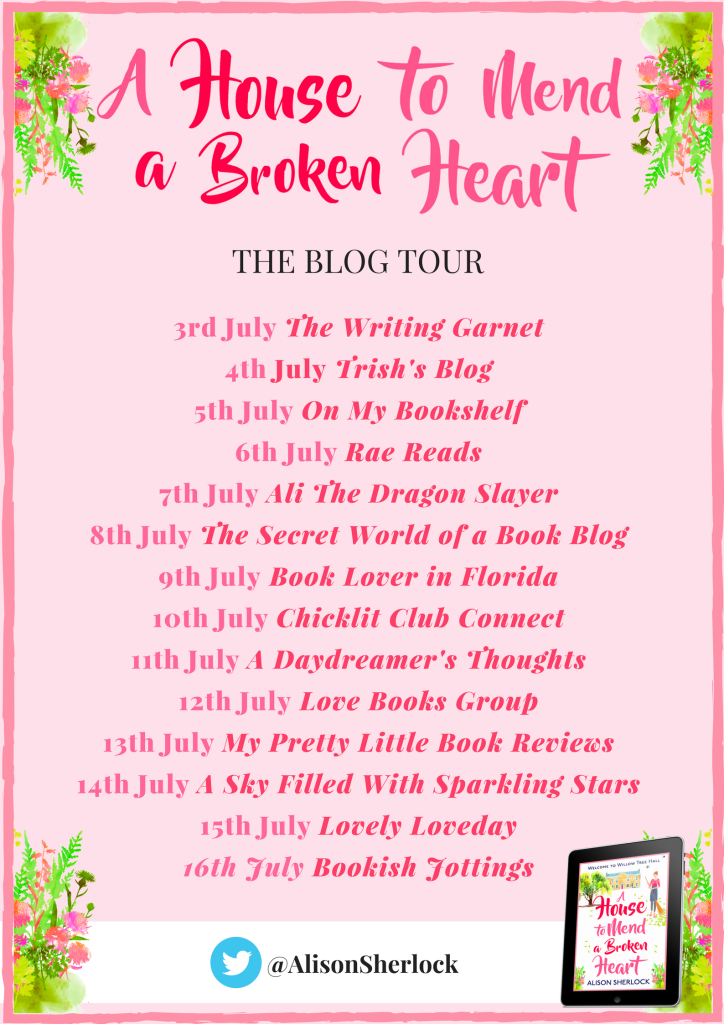 A House to Mend a Broken Heart - blog tour banner
